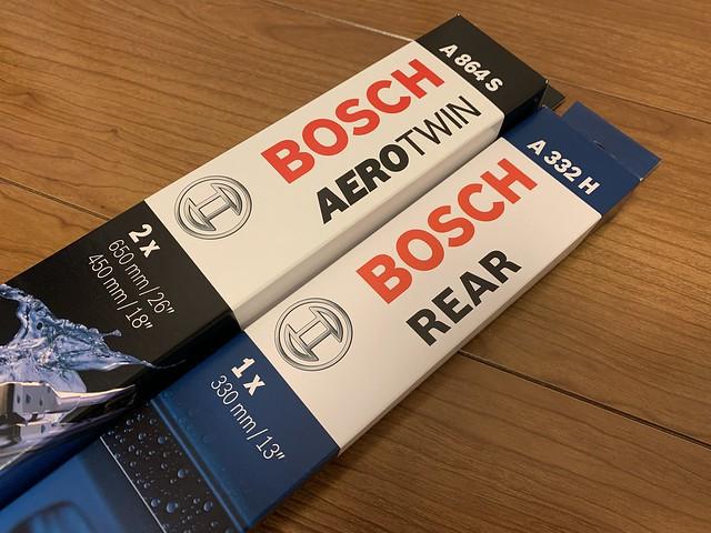 BOSCH AEROTWIN & REAR