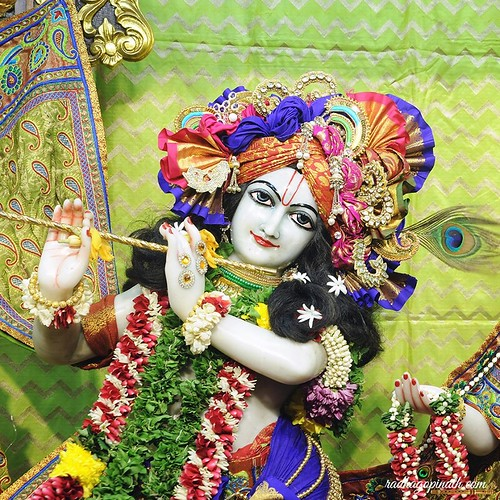 ISKCON Chowpatty Deity Darshan 19 Oct 2019