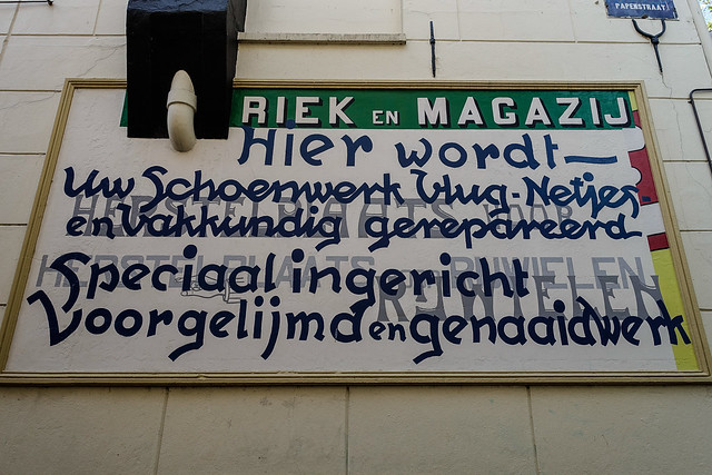 ©RGS-Read the text Papenstraat Zwolle.