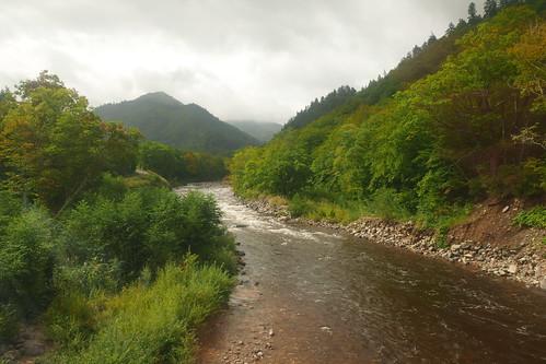 尾瀬から流れ出る只見川源流域には手つかずの自然が残る