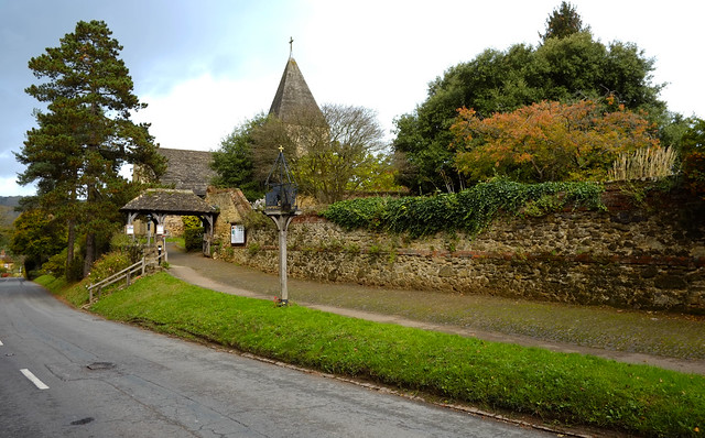 Limpsfield Village Surrey
