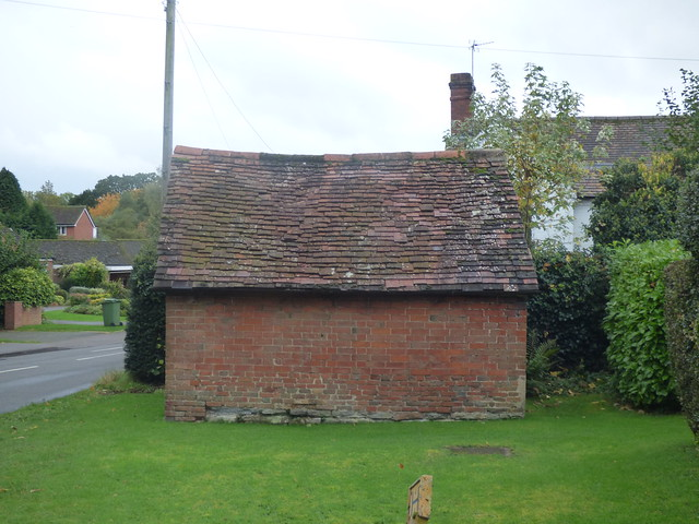 Browns Lane, Copt Heath - Outhouse to Marlpitts Cottage