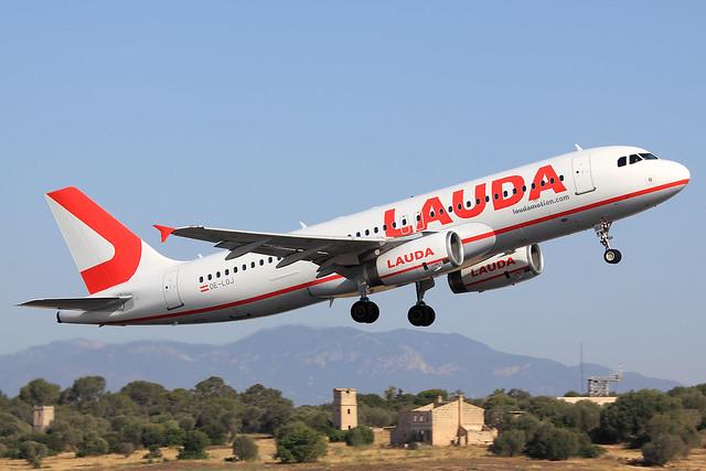 Laudamotion  Airbus A320-232 OE-LOJ