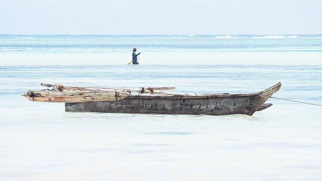 Zanzibar ,douceur bleue