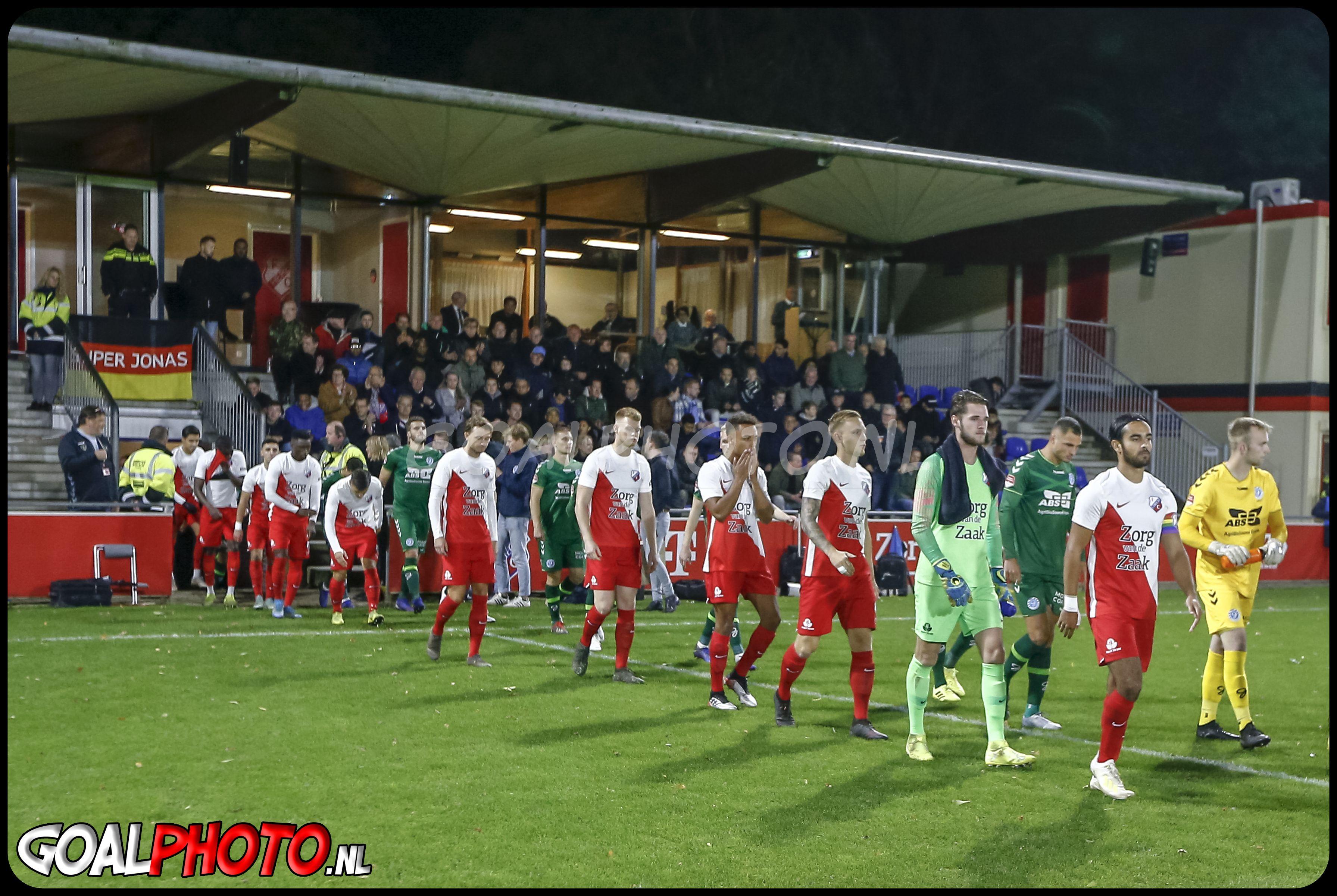 Jong FC Utrecht - De Graafschap 19-10-2019
