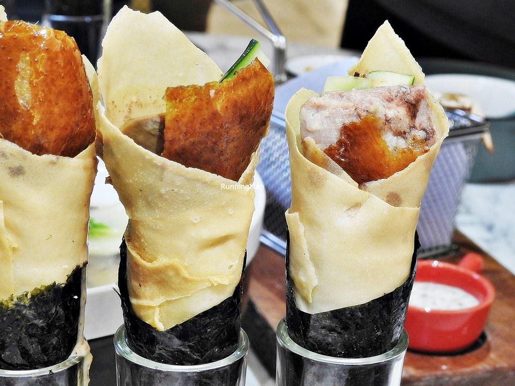 Peking Duck Salad Hand Roll