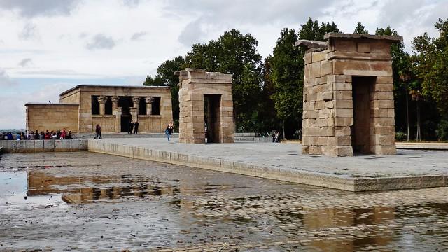Templo egipcio de Debod - Madrid