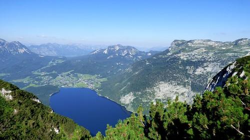 Blick auf den Altausseer See / View to Lake Altaussee
