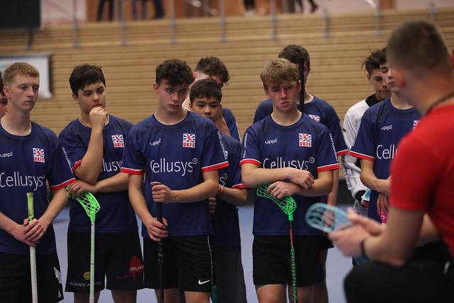 Great Britain MU19s National Floorball Team Training Camp