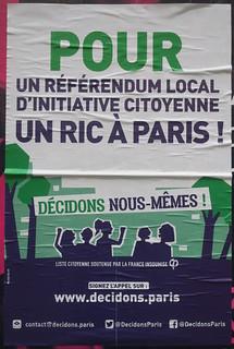 Un RIC à Paris !