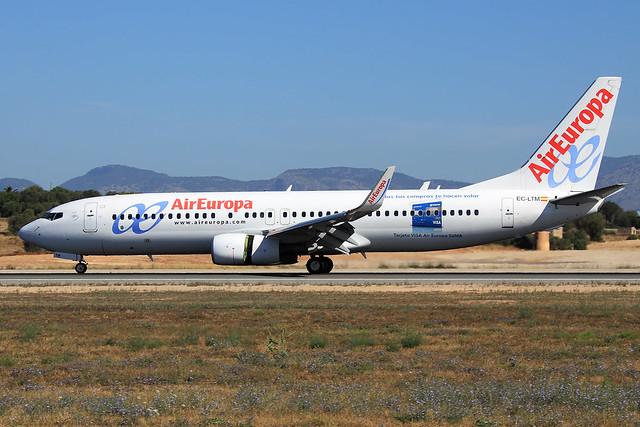 Air Europa  Boeing 737-85P EC-LTM