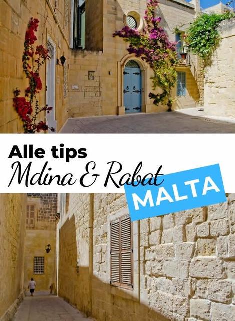 Mdina & Rabat Malta | Alle tips over Mdina en Rabat op Malta