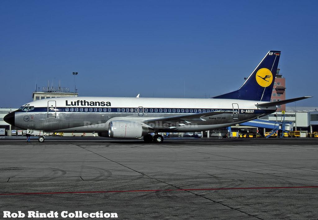 Lufthansa B737-330 D-ABXF