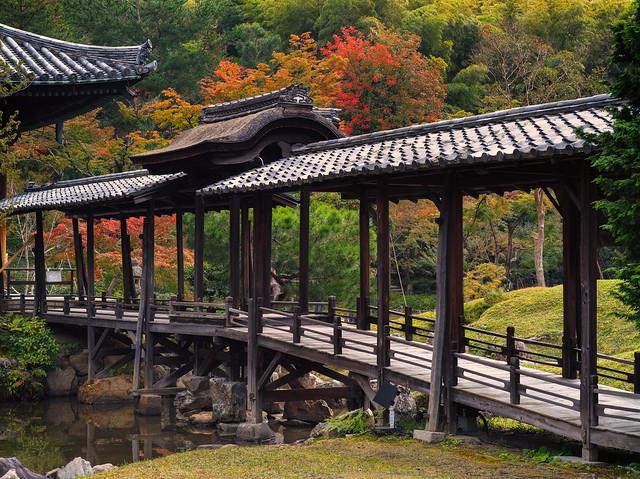 The moon-viewing bridge of Kodai-ji