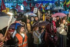 Manifestation 'Stop à l'offensive turque au nord de la  Syrie'