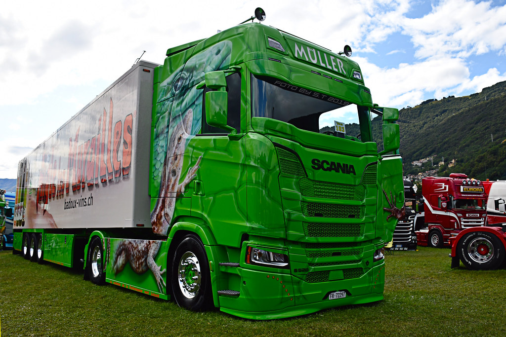 *NEW* Scania S520 V8 Franz Müller Transport