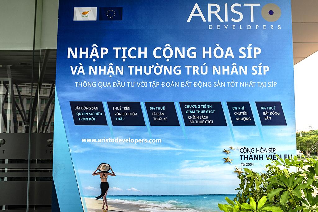 ARISTO DEVELOPERS--Saigon