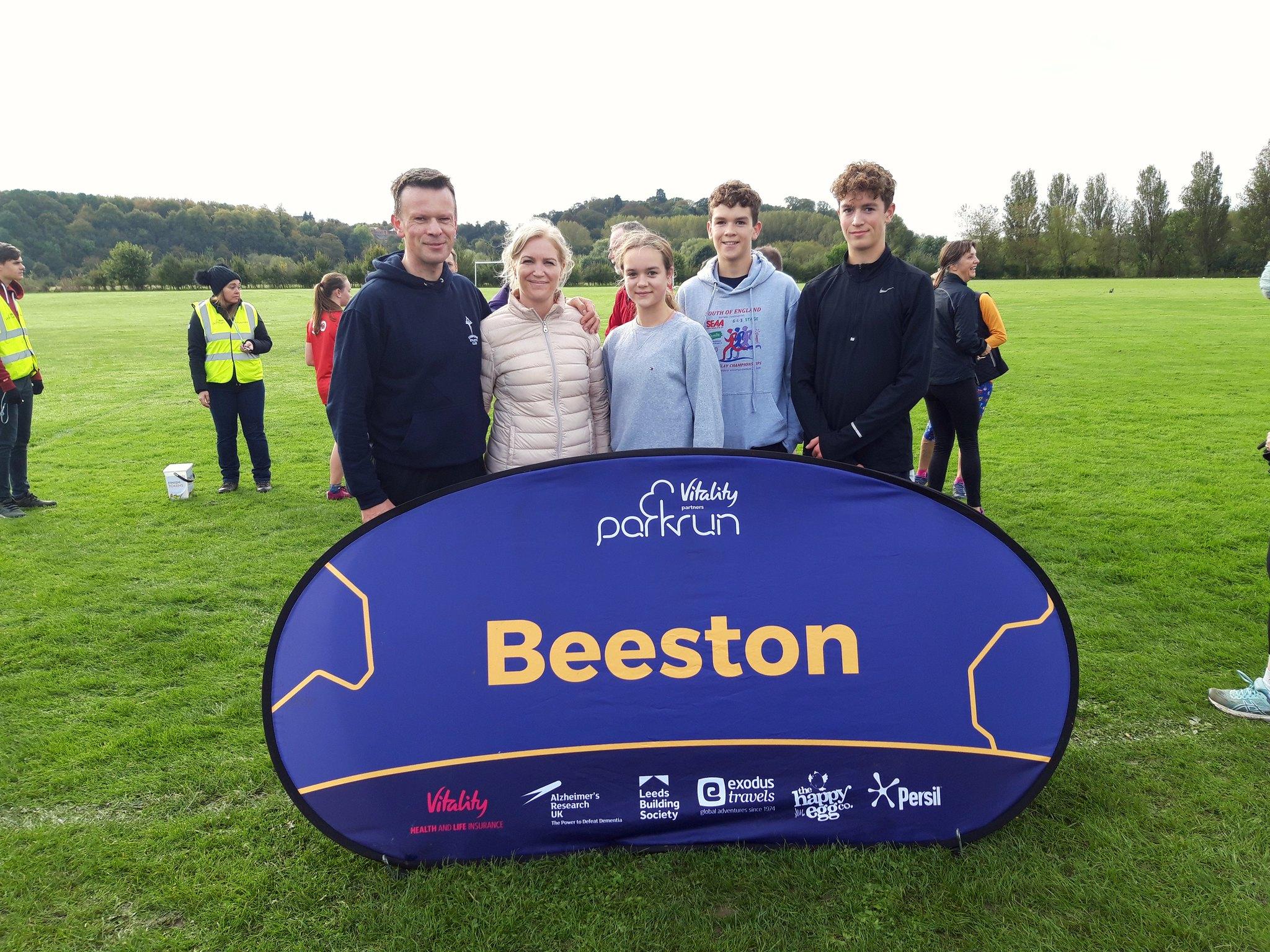 The Beeston family at Beeston Sat 19 October