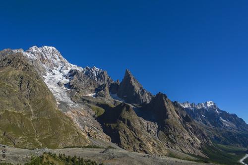 Mont-Blanc, the Italian side ! Versant Italien du Mont-Blanc !
