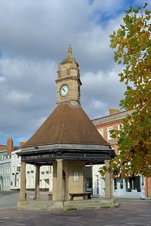 The Clock Tower in Newbury, Berkshire