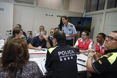 Sat, 19/10/2019 - 08:19 - Barcelona 19.10.2019 Reunió al Centre de Coordinación Municipal, CECOR.