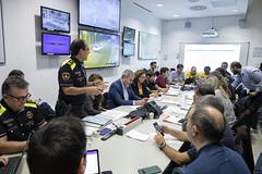 Sat, 19/10/2019 - 08:12 - Barcelona 19.10.2019 Reunió al Centre de Coordinación Municipal, CECOR.