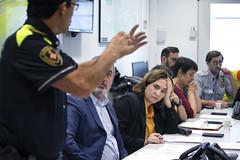 Sat, 19/10/2019 - 08:10 - Barcelona 19.10.2019 Reunió al Centre de Coordinación Municipal, CECOR.