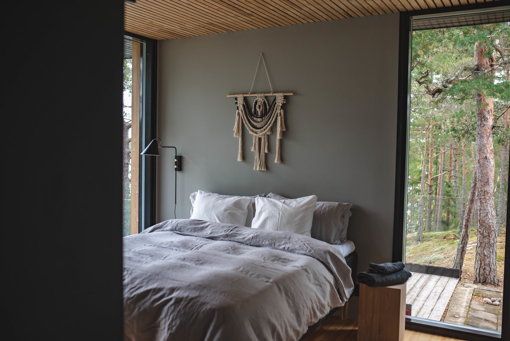 villa nagu makuuhuone ikkuna
