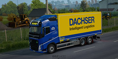 Dachser Volvo FH4 leased by BSL Logistic [ETS2]