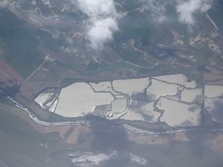 Ponds near Akaszto, Hungary