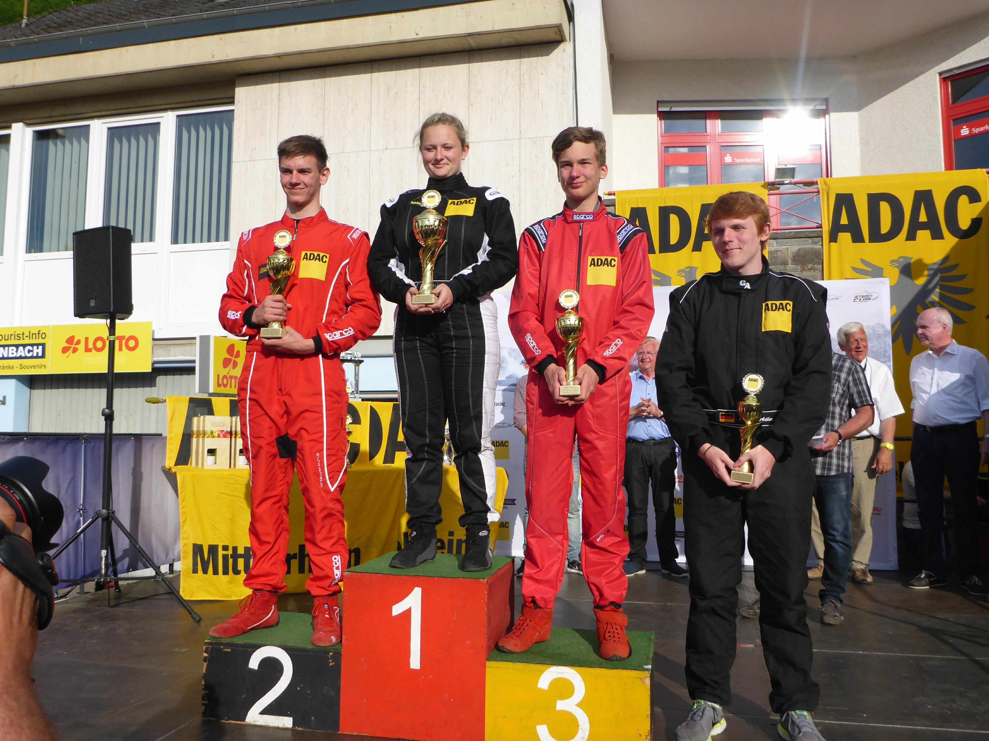 Sieg für Weschenfelder im ADAC Motorboot Cup