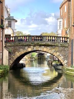 Bridge over Kennet & Avon Canal in Newbury, Berkshire