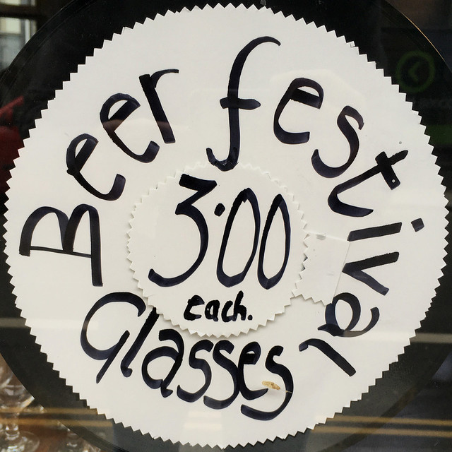 Beer Festival Glasses