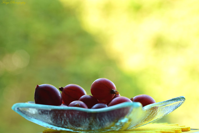 Gooseberries...