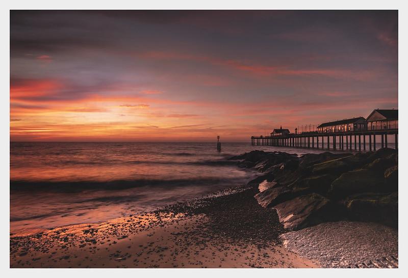 Suffolk Coast Sunrise