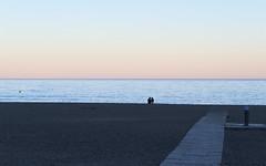 Malagueta beach - Quiet