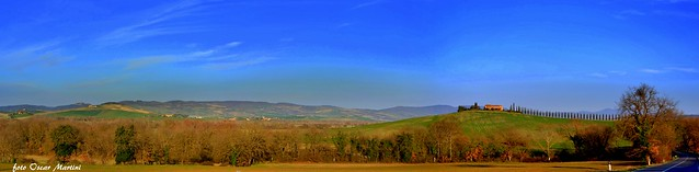La Val d'Orcia di Siena  la natura che ti fa sognare.
