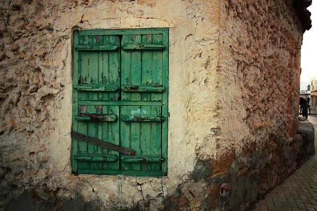 old vintage window
