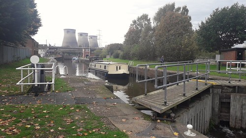 Ferrybridge Flood Lock Aire and Calder Navigation Yorkshire