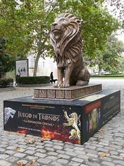 Serie Juego de Tronos. León, de la Casa Lannister (Madrid)