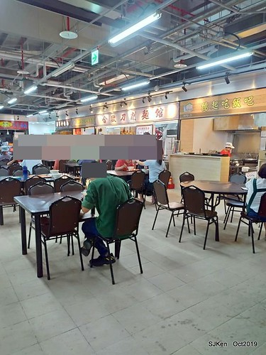 New open of Nangmeng traditional food & clothes market , Taipei, Taiwan, SJKen, Oct 17, 2019