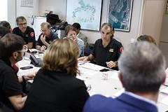 Sat, 19/10/2019 - 08:20 - Barcelona 19.10.2019 Reunió al Centre de Coordinación Municipal, CECOR.
