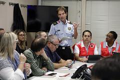 Sat, 19/10/2019 - 08:17 - Barcelona 19.10.2019 Reunió al Centre de Coordinación Municipal, CECOR.