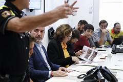 Sat, 19/10/2019 - 08:06 - Barcelona 19.10.2019 Reunió al Centre de Coordinación Municipal, CECOR.
