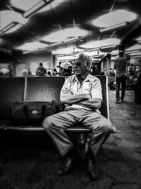 Airport Lounge. Charlottetown, PEI.