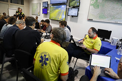 Sat, 19/10/2019 - 08:16 - Barcelona 19.10.2019 Reunió al Centre de Coordinación Municipal, CECOR.