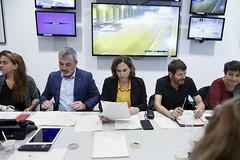 Sat, 19/10/2019 - 08:08 - Barcelona 19.10.2019 Reunió al Centre de Coordinación Municipal, CECOR.