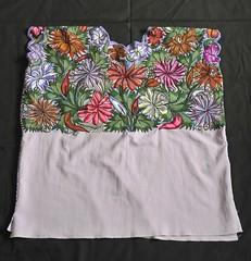 Huipil Maya Chiapas Zinacantan Mexican Textiles