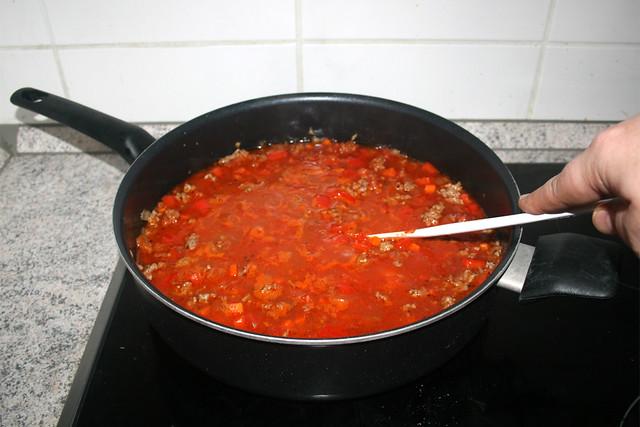 18 - Verrühren &  aufkochen lassen / Stir & bring to a boil
