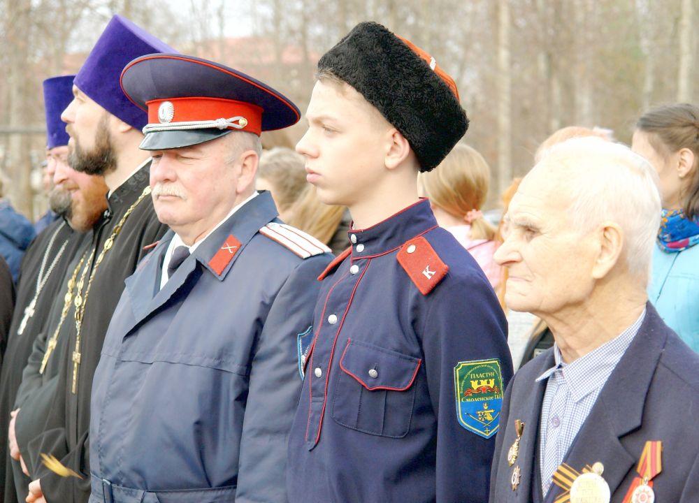 Ветеран Великой Отечественной войны Леонид Иванович Кабанов (справа)